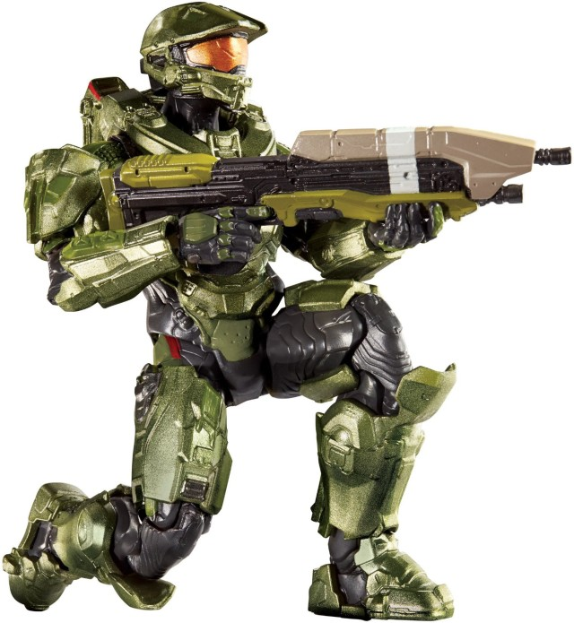 Mattel Halo Master Chief 6 Inch Action Figure Series 1