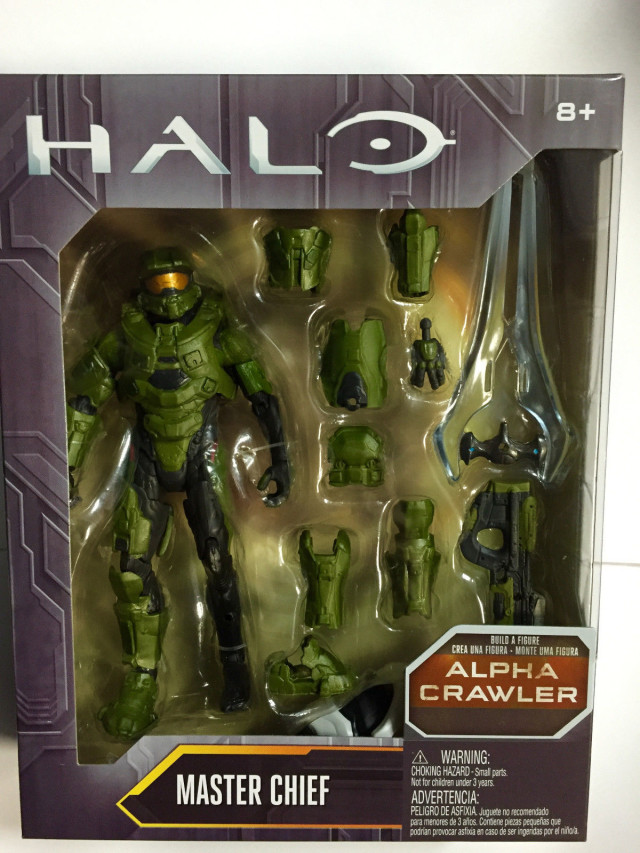 Mattel Halo Master Chief Figure Packaged
