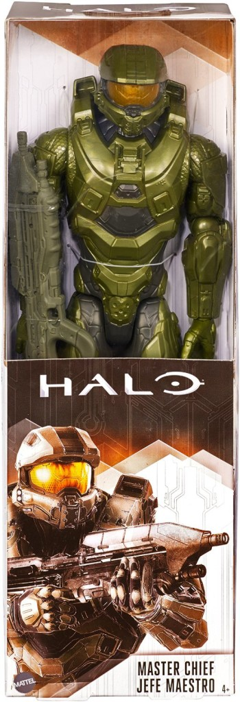 Mattel Halo Master Chief Figure in Box 12 Inch