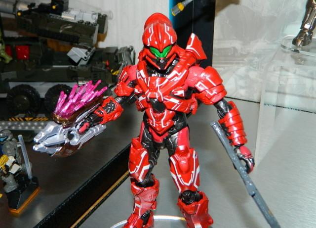 Mattel Halo Spartan Helioskrill Figure Toy Fair 2016