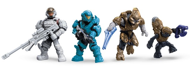 Mega Bloks Halo Cobra Clash Figures Copperhead Spartan