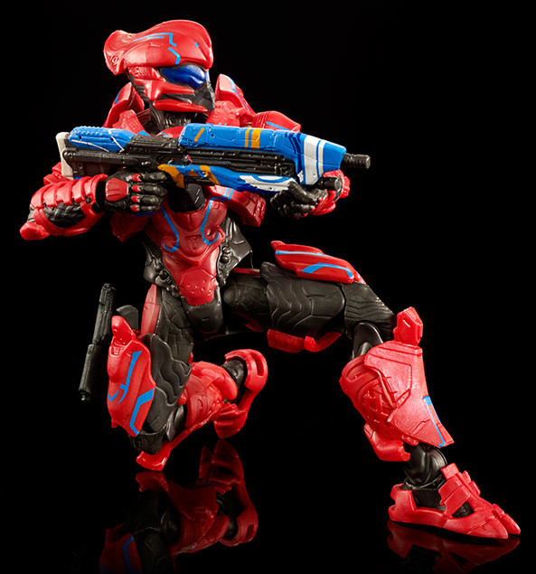 SDCC 2016 Helioskrill Spartan Action Figure with Assault Rifle