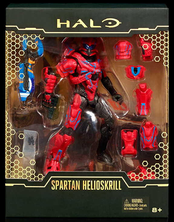 SDCC Exclusive Spartan Helioskrill Figure Packaged