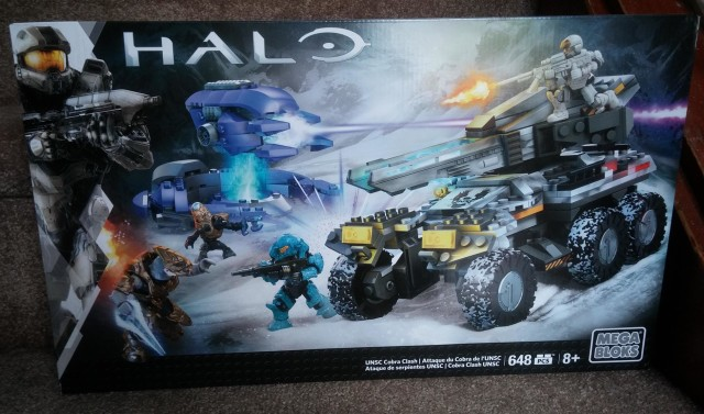 Toys R Us Exclusive Mega Bloks Halo Cobra Clash Set Box