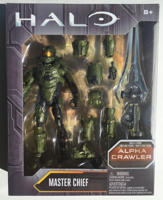 "Mattel Halo Master Chief 6"" Figure in Package Box"