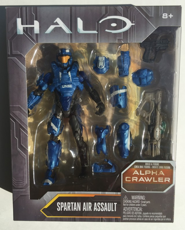 "Halo Mattel 6"" Spartan Air Assault Figure Packaged"