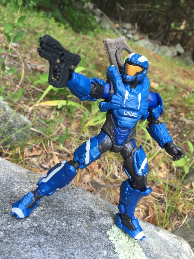 Spartan Air Assault Halo Mattel Figure with Pistol
