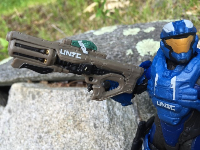 Mattel Halo UNSC Hydra Launcher Gun Close-Up