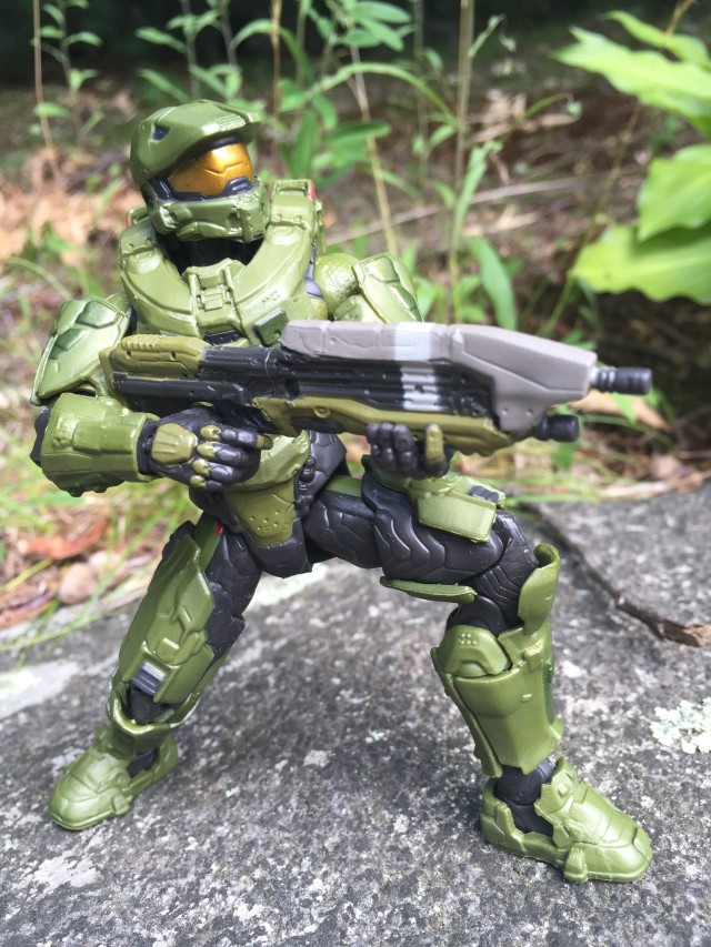 Master Chief Halo Collector Series Figure Crouching