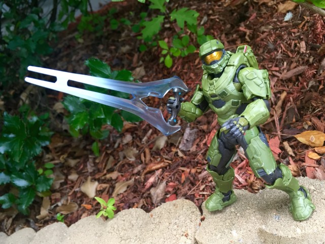 Mattel Master Chief Holding Energy Sword
