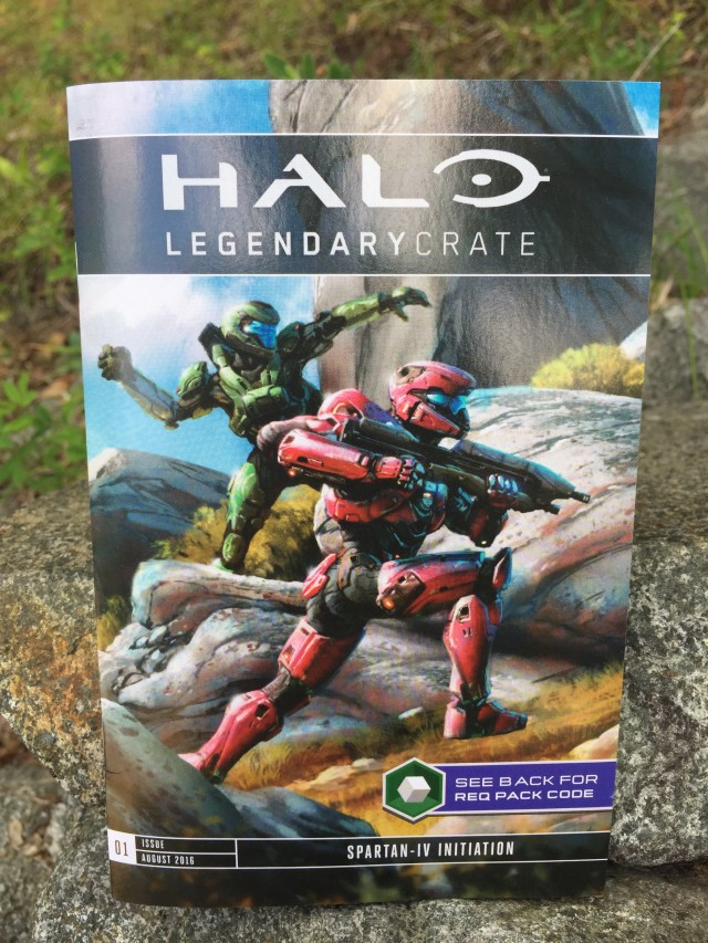 Halo Legendary Crate Issue 1 Booklet