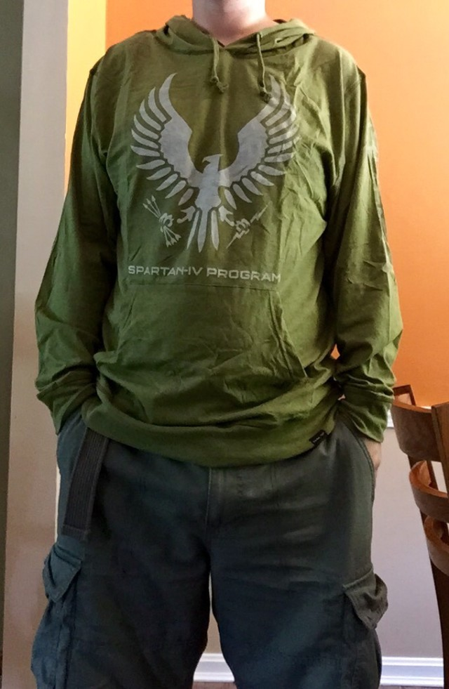 Spartan-IV Hoodie from Halo Loot Crate
