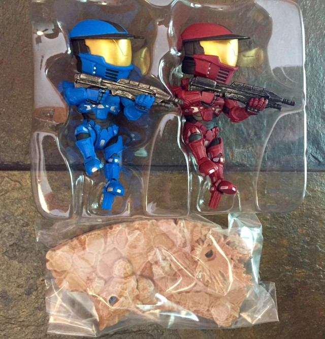 Halo Legendary Crate Icons Spartans Warzone Figures in Bubble